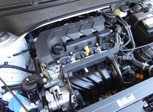 2022 Hyundai Venue engine
