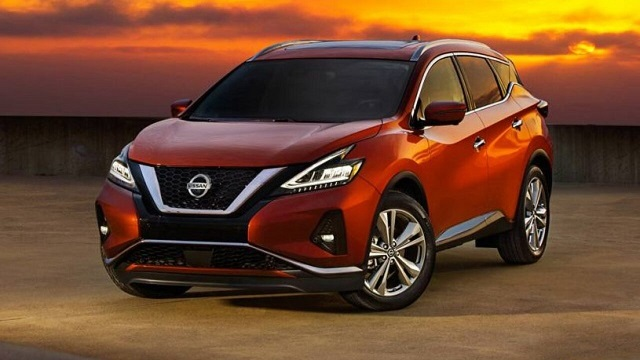 2022 Nissan Murano front view