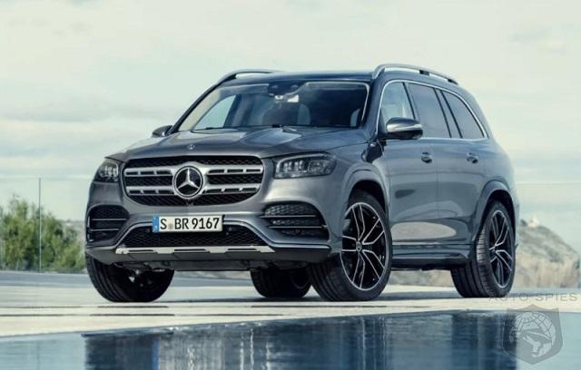 2022 Mercedes-Benz GLS front view
