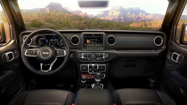 2023 Jeep Wrangler Interior