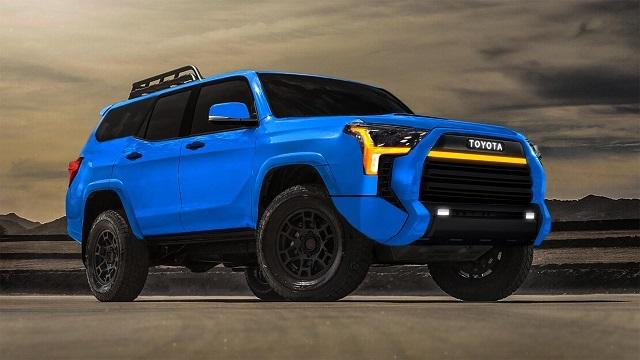 2023 Toyota 4Runner Render