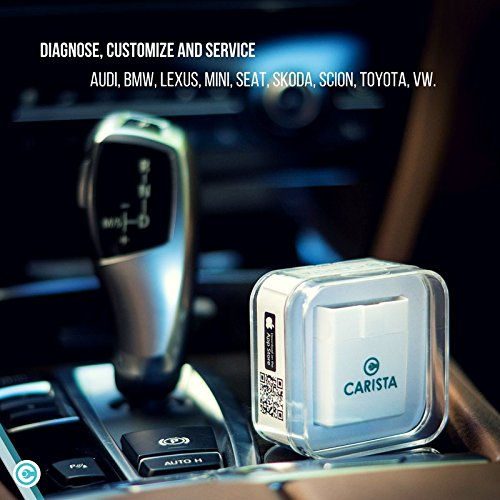 Carista Bluetooth OBD2 Adapter, Scanner & App for iPhone