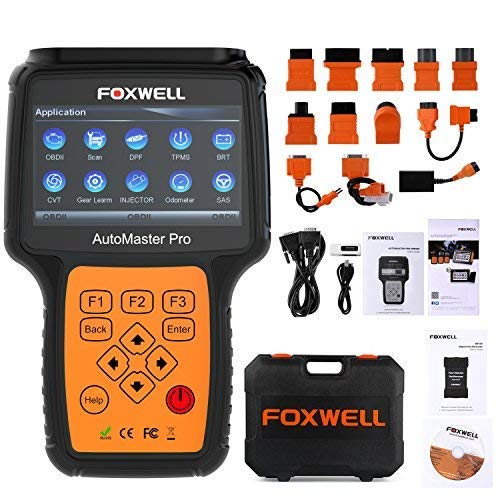 Foxwell NT644 Review 2019 [Pro Automotive OBD2 Scanner]