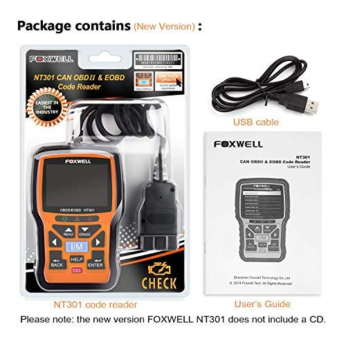Foxwell NT301 vs Autel AL519