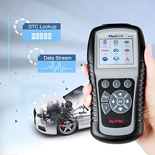 Difference between Autel Maxilink ML619 vs Actron CP9670