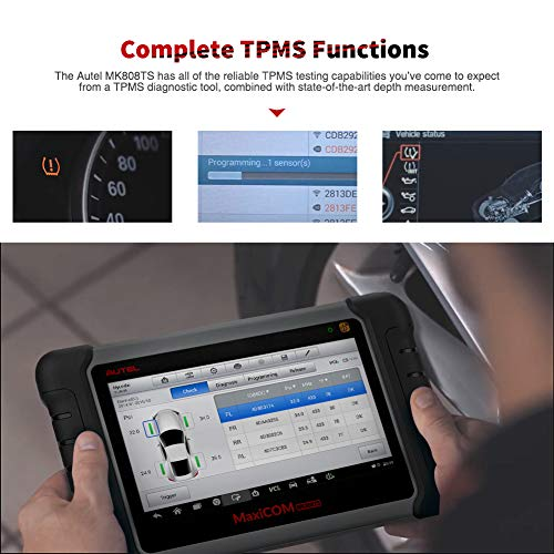 Autel MaxiCOM MK808TS Automotive Diagnostic Scanner