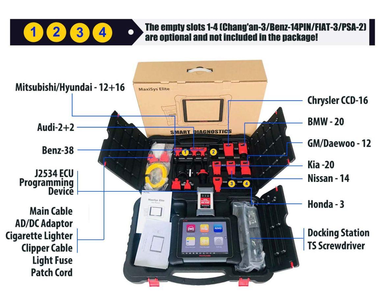 autel maxisys elite automotive diagnostic tool