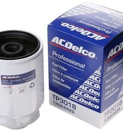 acdelco professional fuel filter winner best duramax fuel filter [ 1500 x 1181 Pixel ]