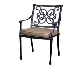 2 X 4 Dining Chairs Portable Chair Umbrella Florence Collection Swivel Rockers And