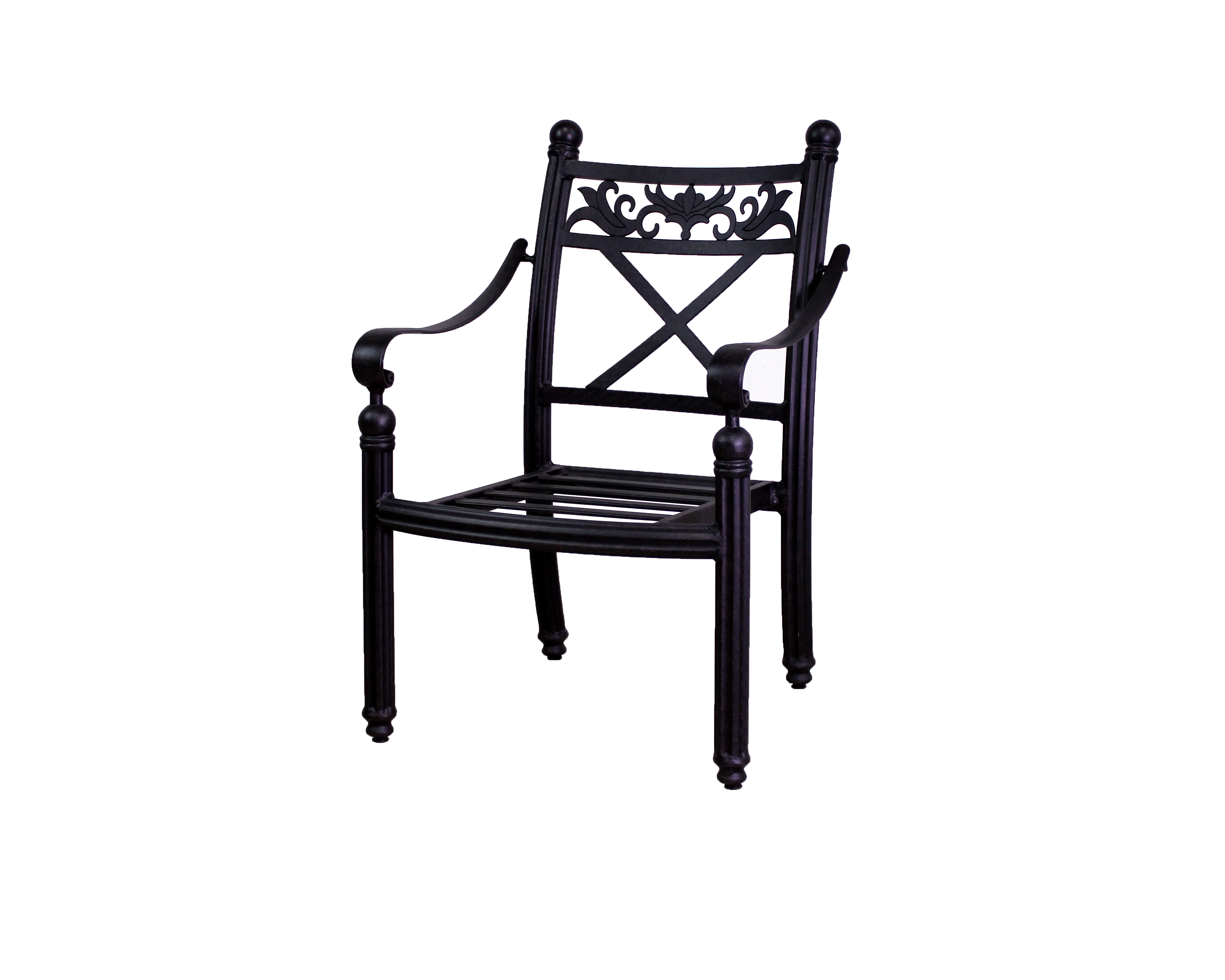 Basso Collection 4 Dining Chairs And Le Terrace 42 Round