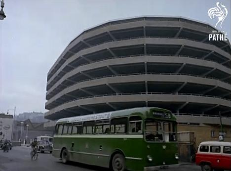 Bristol multi car park