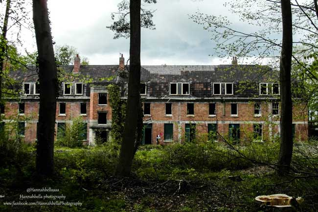 The Barrow Gurney abandoned psychiatric hospital