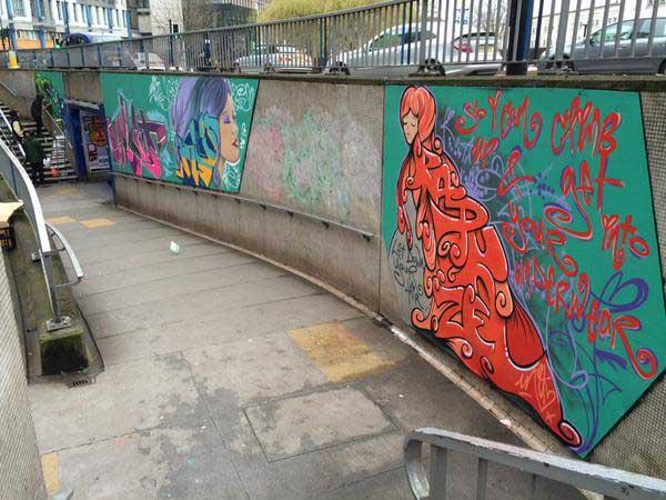 Bear Pit Street Art