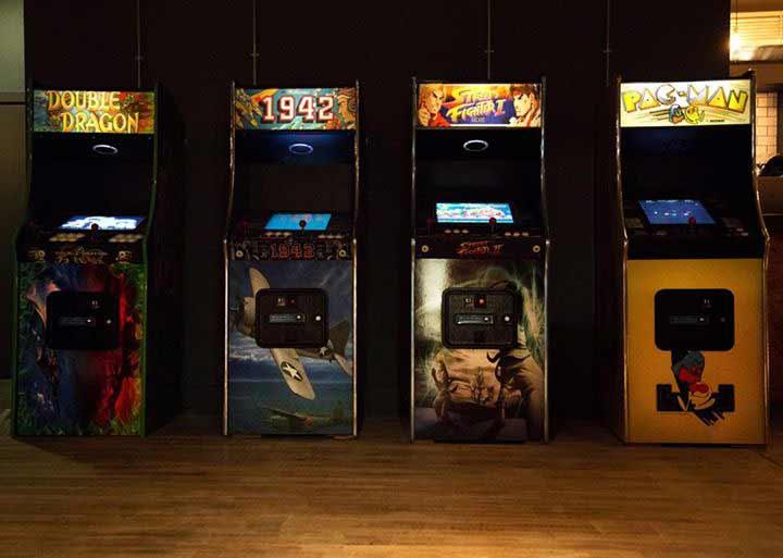 Kongs of kings street arcade machines