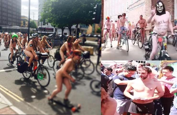 naked bike ride bristol