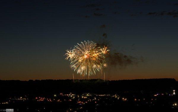 Balloon Fiesta Fireworks