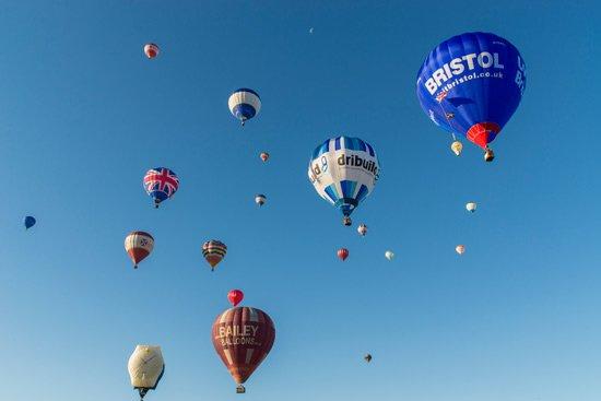 bristol balloons sky