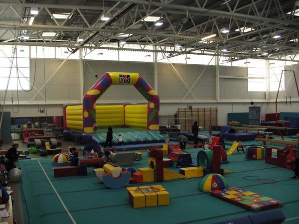 Bristol Gymnastics Centre soft play