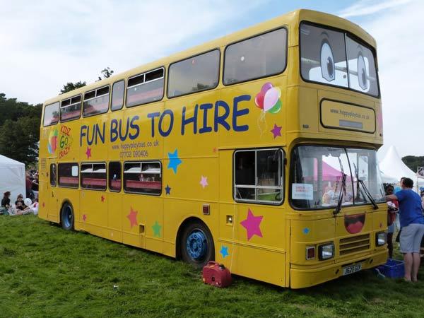 Happy play bus soft