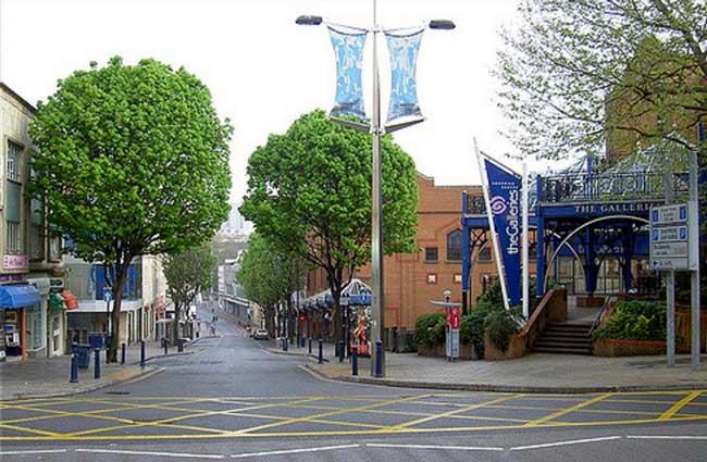 Union street deserted