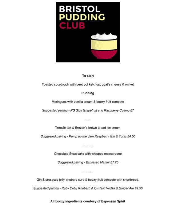 bristol pudding club
