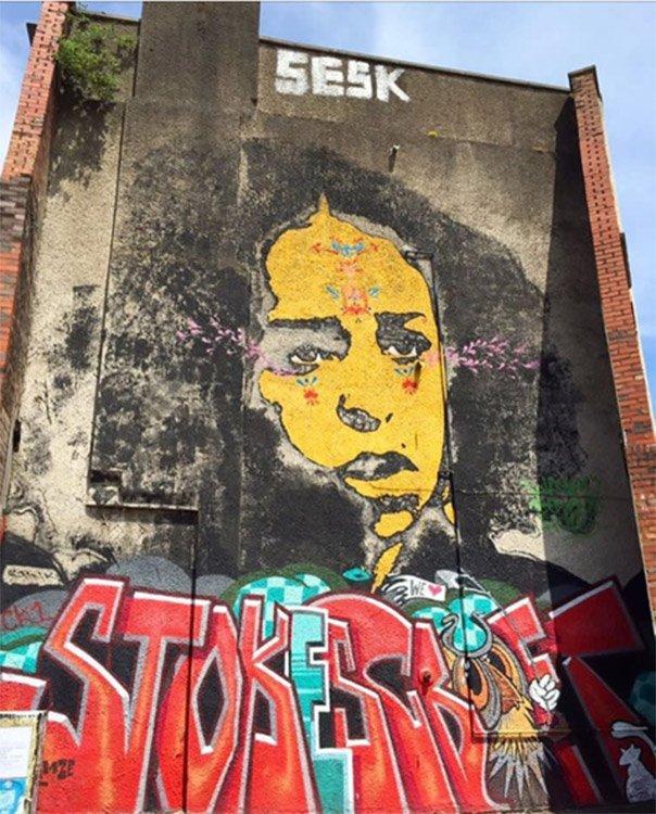 stinkfish stokes croft street art