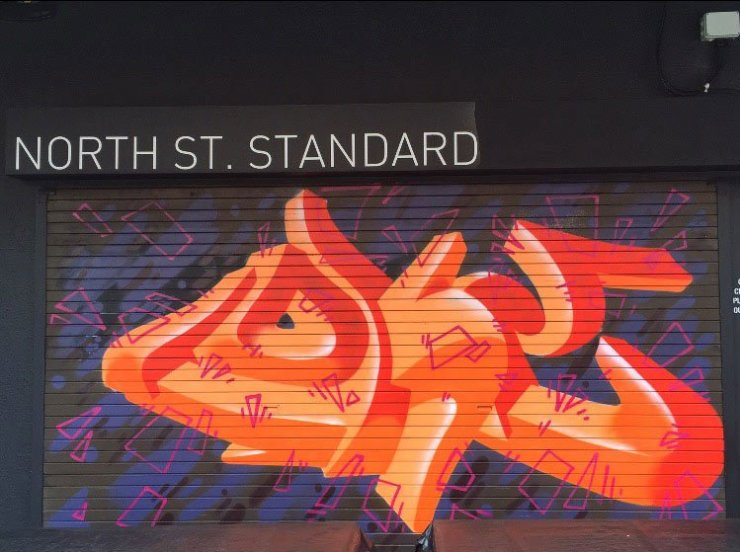 north street standard street art