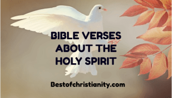 Bible Verses About The Holy Spirit