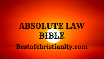 Absolute Law Bible