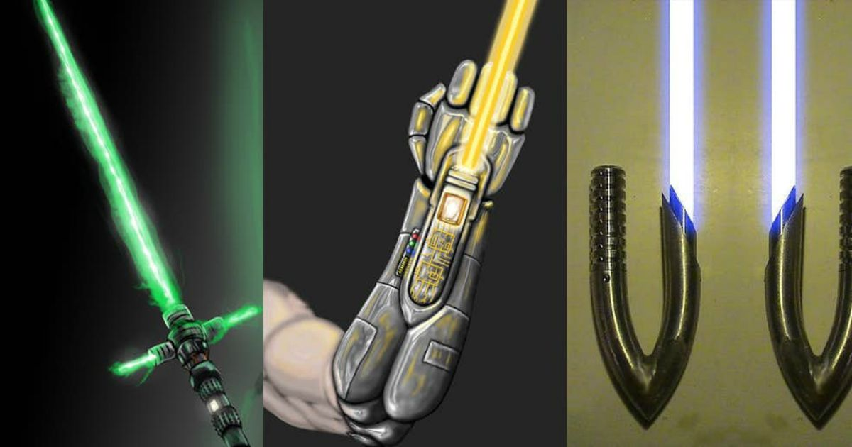 lightsabers created by fans