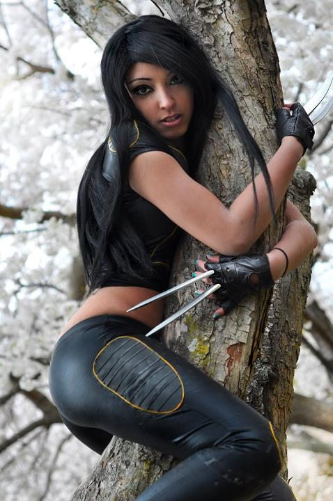 X-23 Cosplays Hot and Sexy