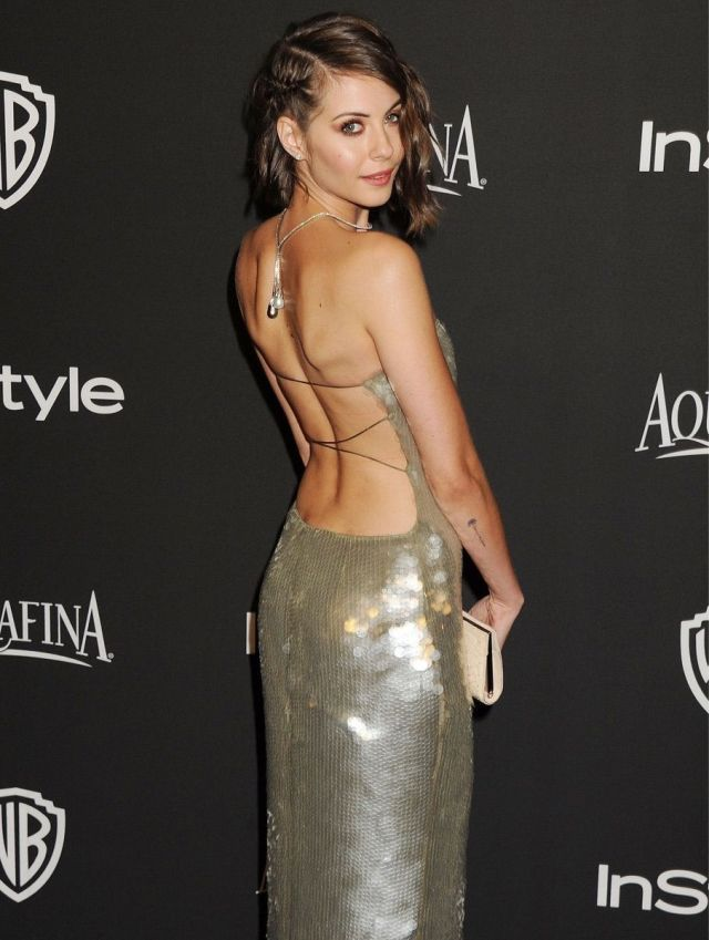Willa Holland backless