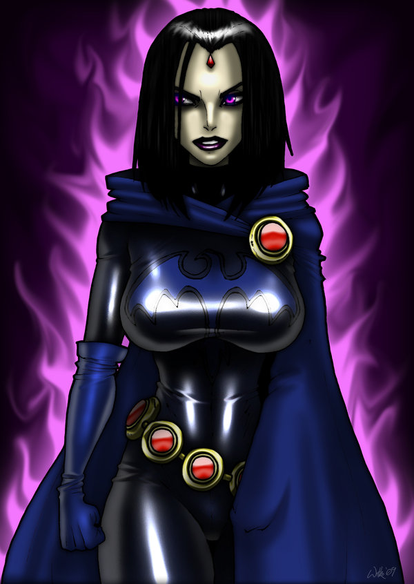 35 Hot Pictures Of Raven From Teen Titans, Dc Comics-2897