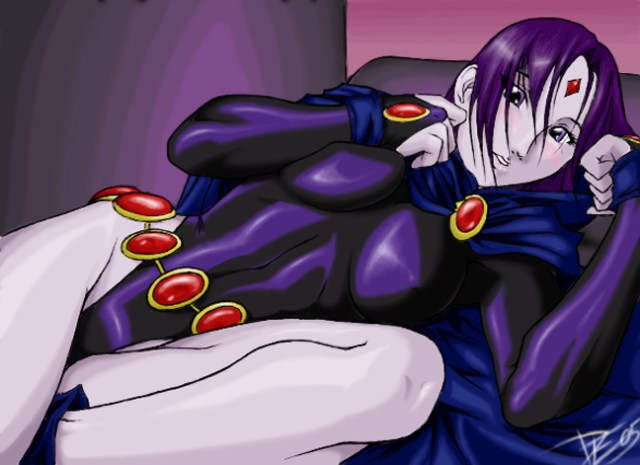 Raven On Bed