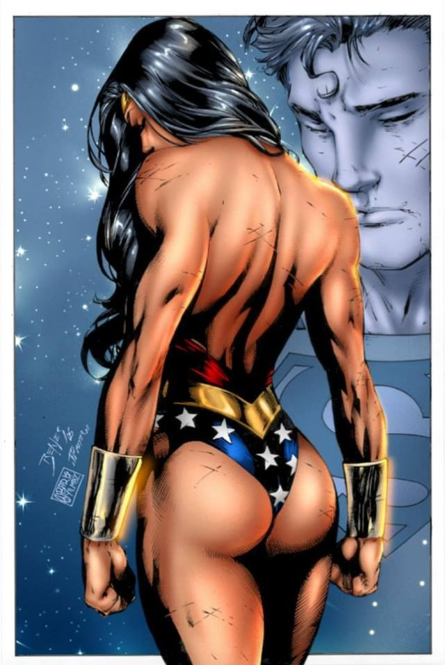Wonder Woman Hot Back