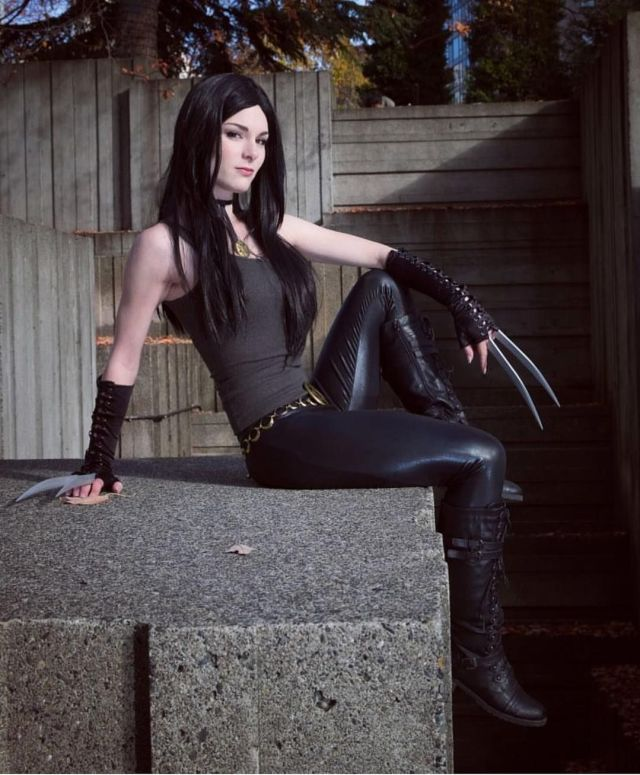 X-23 Cosplays Sexy and Hot