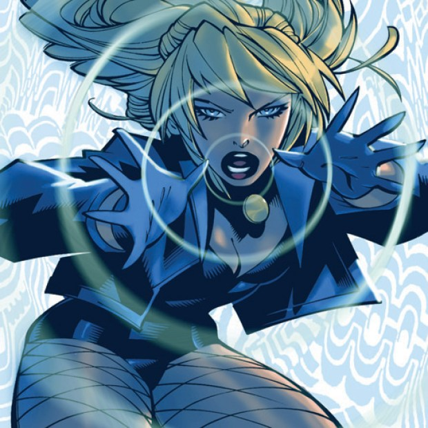 Black Canary Crying