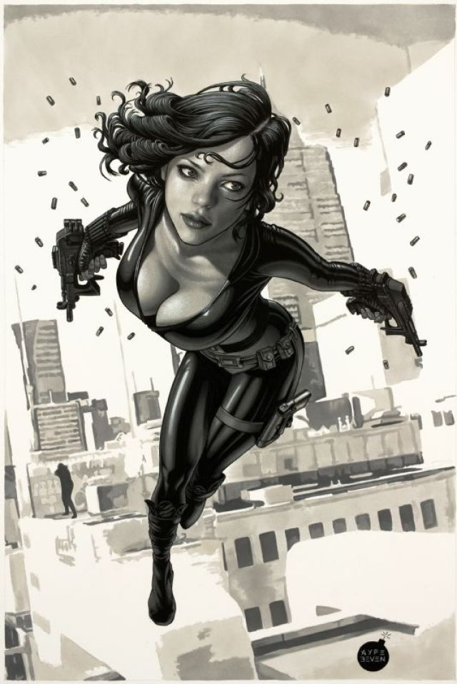 Black Widow high fly action