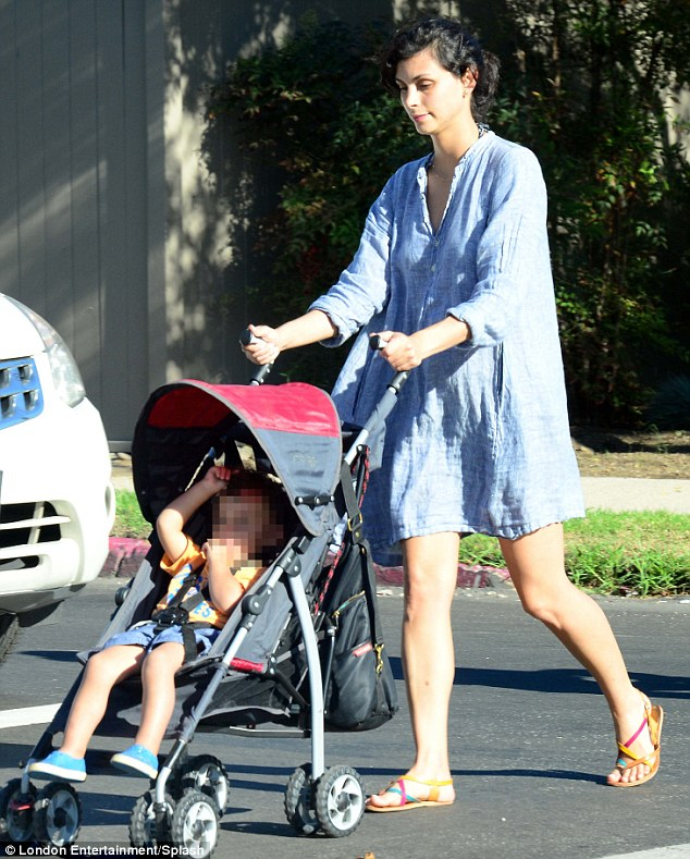 Morena Baccarin With Her Baby