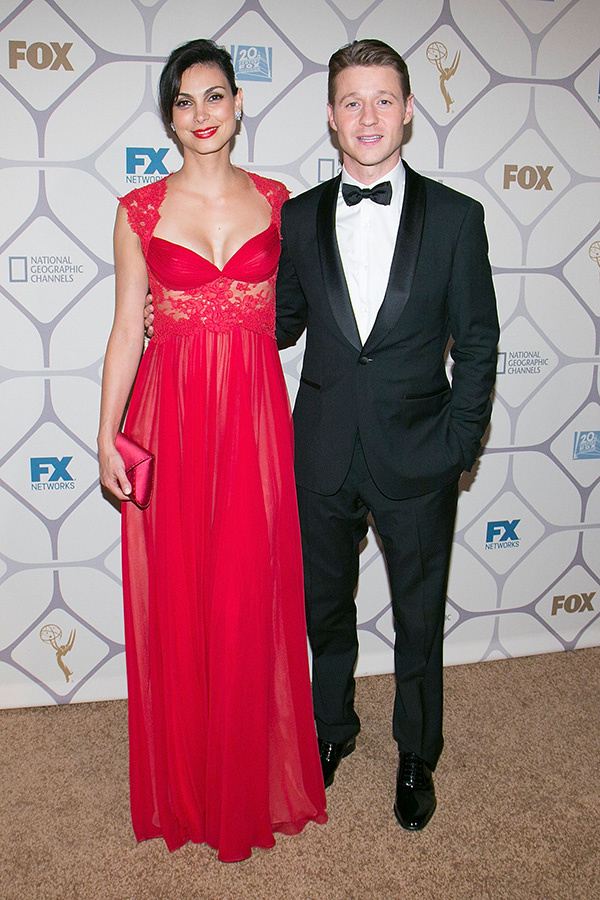 Morena Baccarin Red Dress