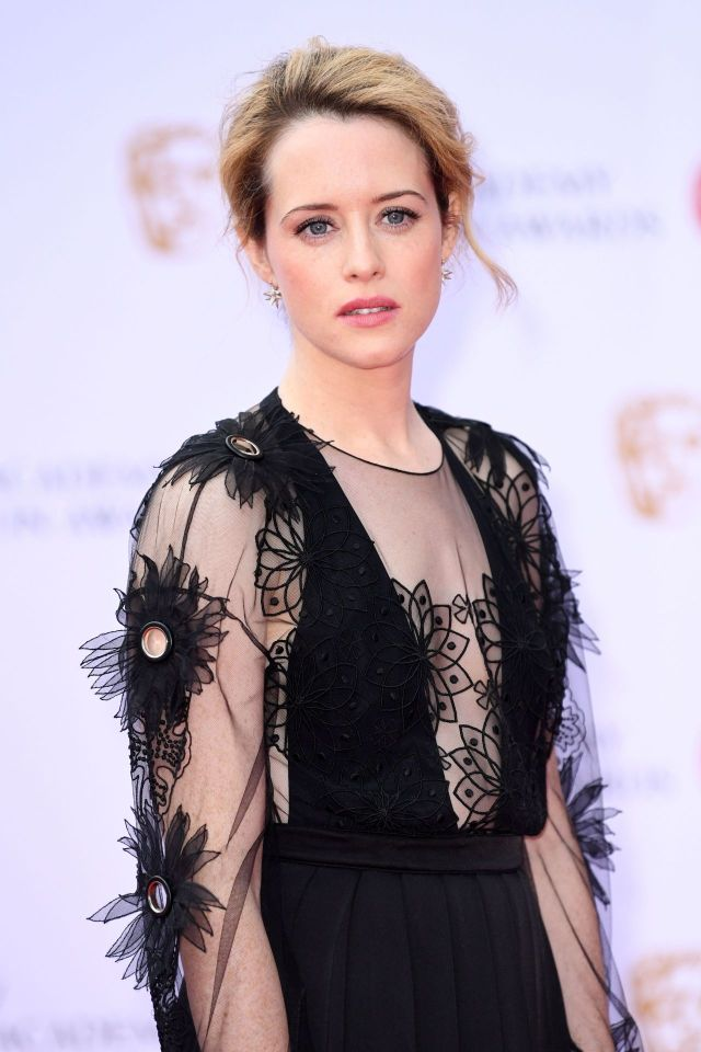 Claire Foy in Black Dress