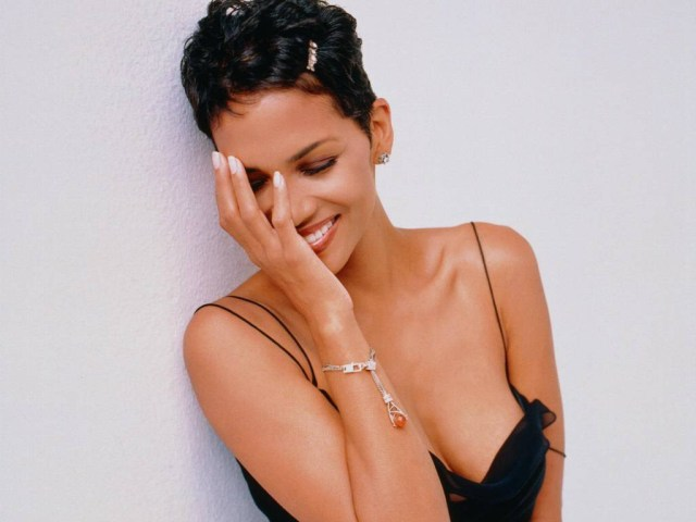 Halle Berry Smile