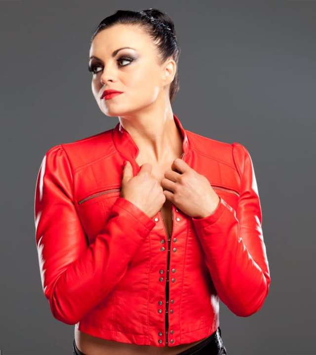Aksana Hot in Red