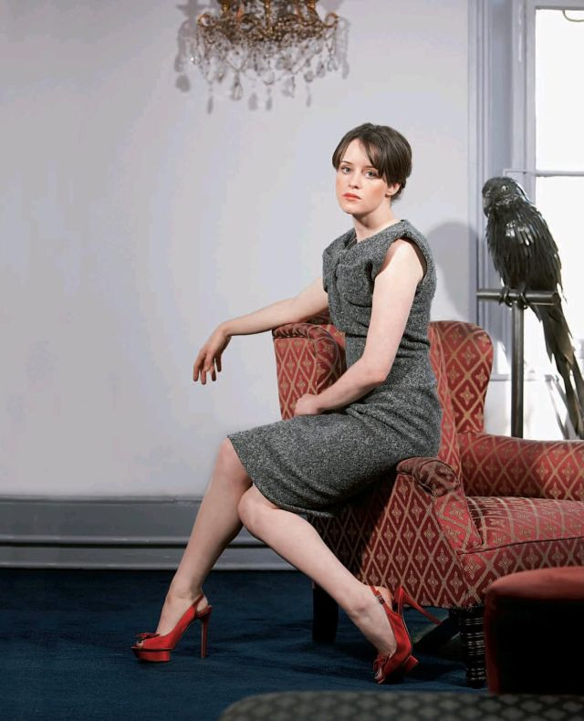 Claire Foy on Photoshoot