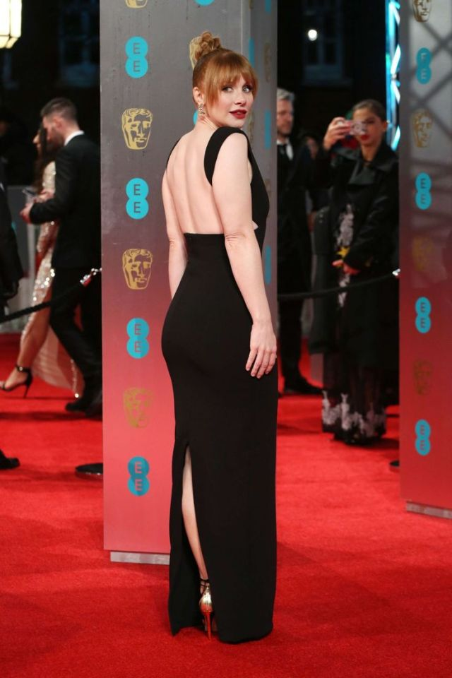 Bryce Dallas Howard Black Dress