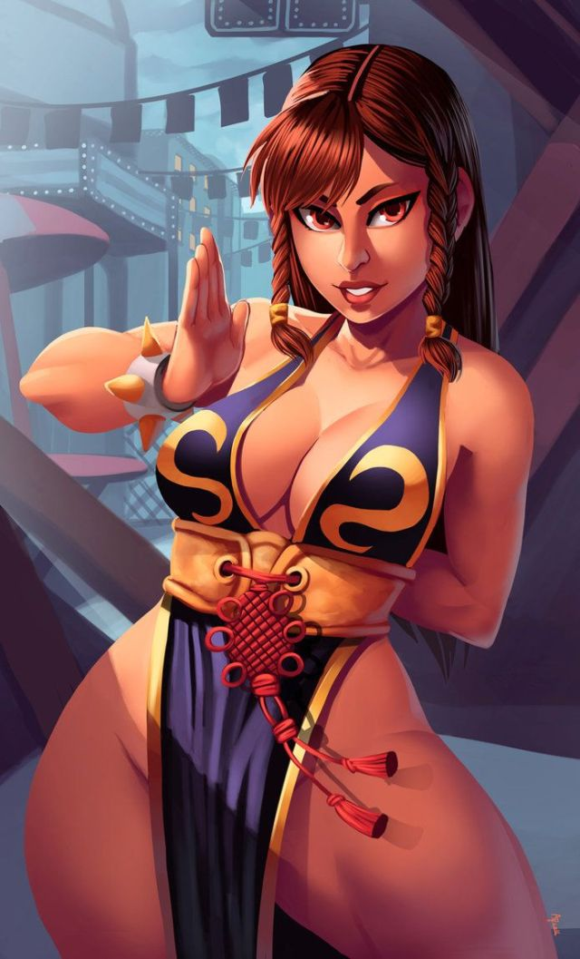 Chun Li Hottie Look