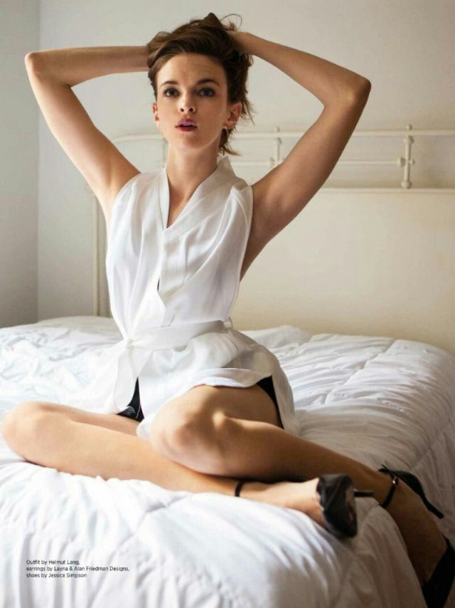 Danielle Panabaker Sexy on Bed