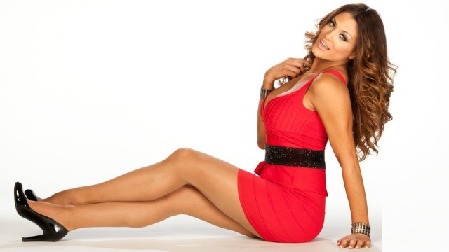 Eve Torres In Red Dress