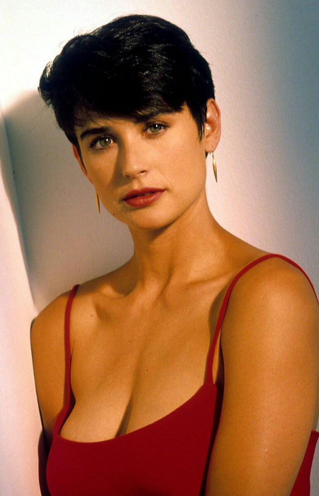 Young Demi Moore Cleavage