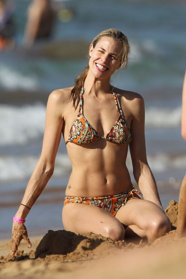 brooke burns bikini